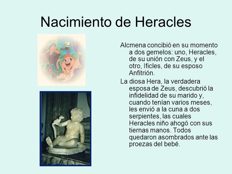 Nacimiento de Heracles