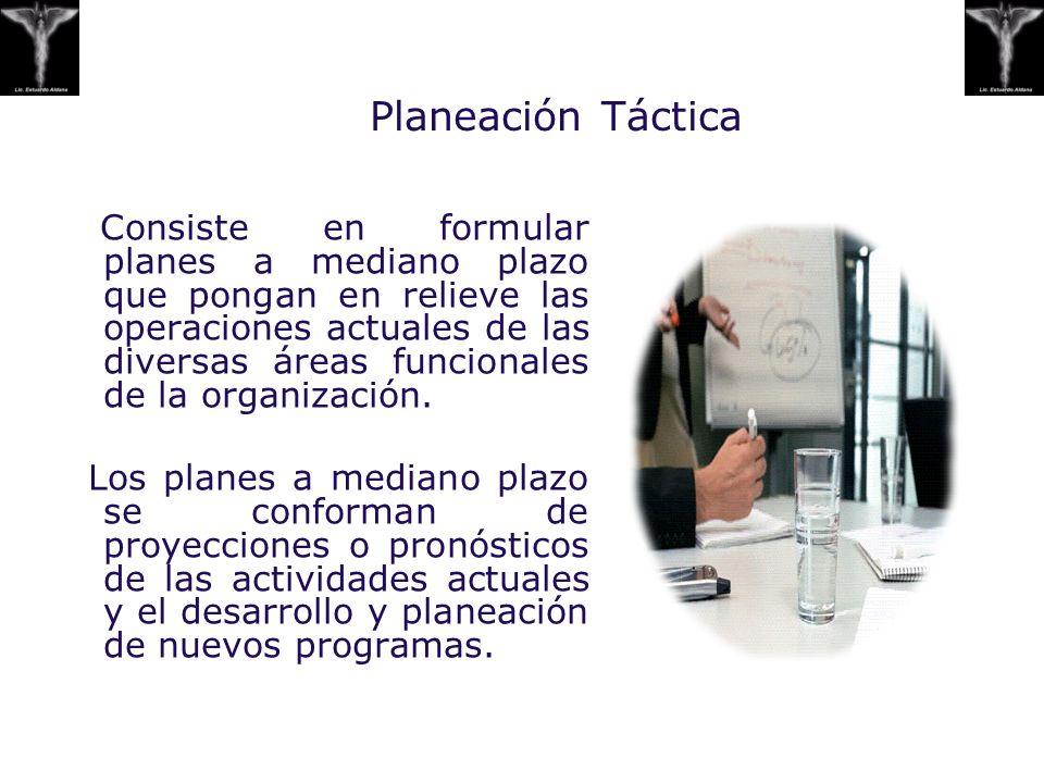 Planeación Táctica