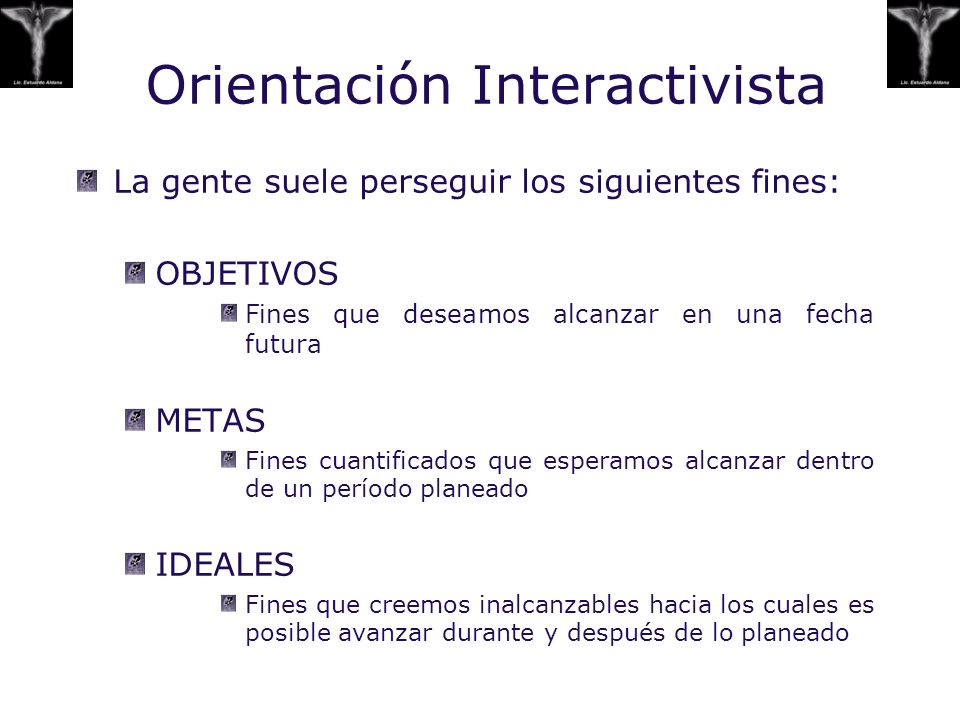 Orientación Interactivista