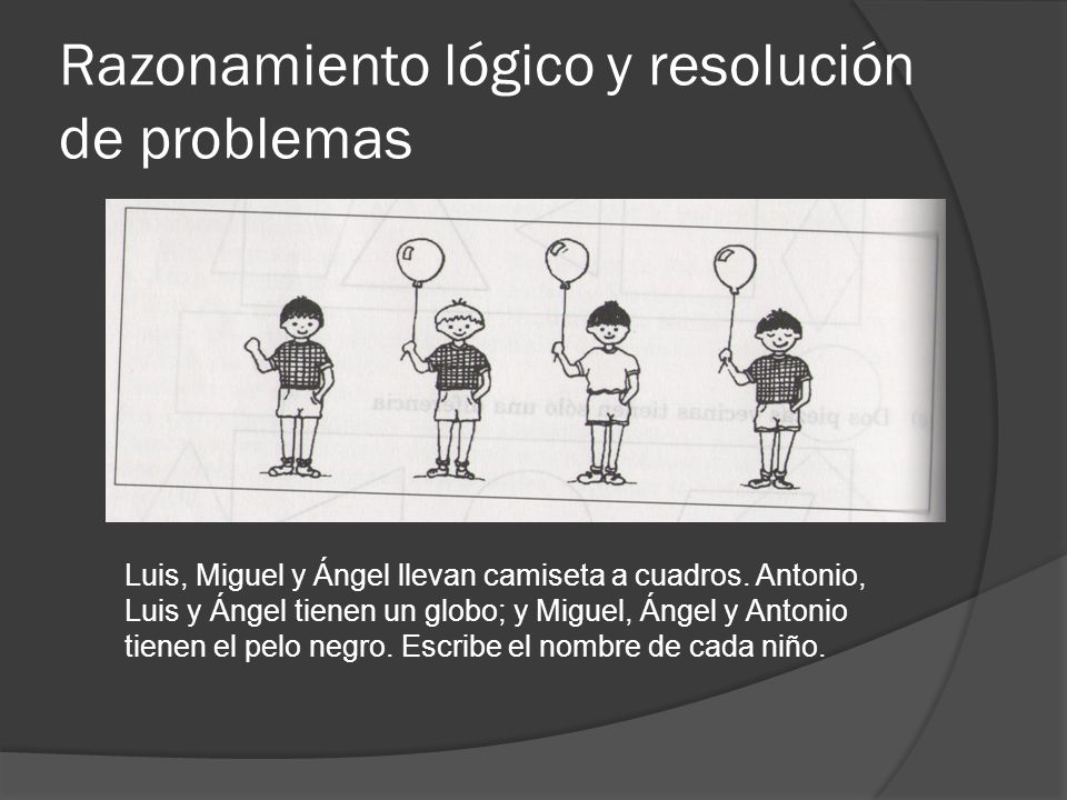 Razonamiento lógico y resolución de problemas