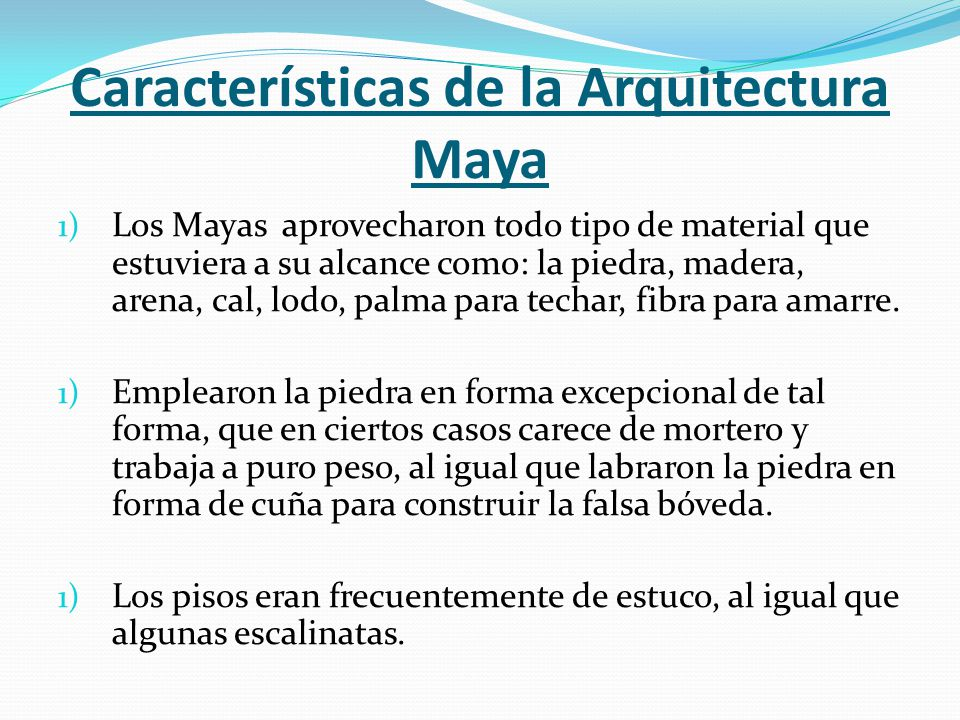 Arte hondure o los mayas de copan ppt video online descargar for Caracteristicas de la arquitectura
