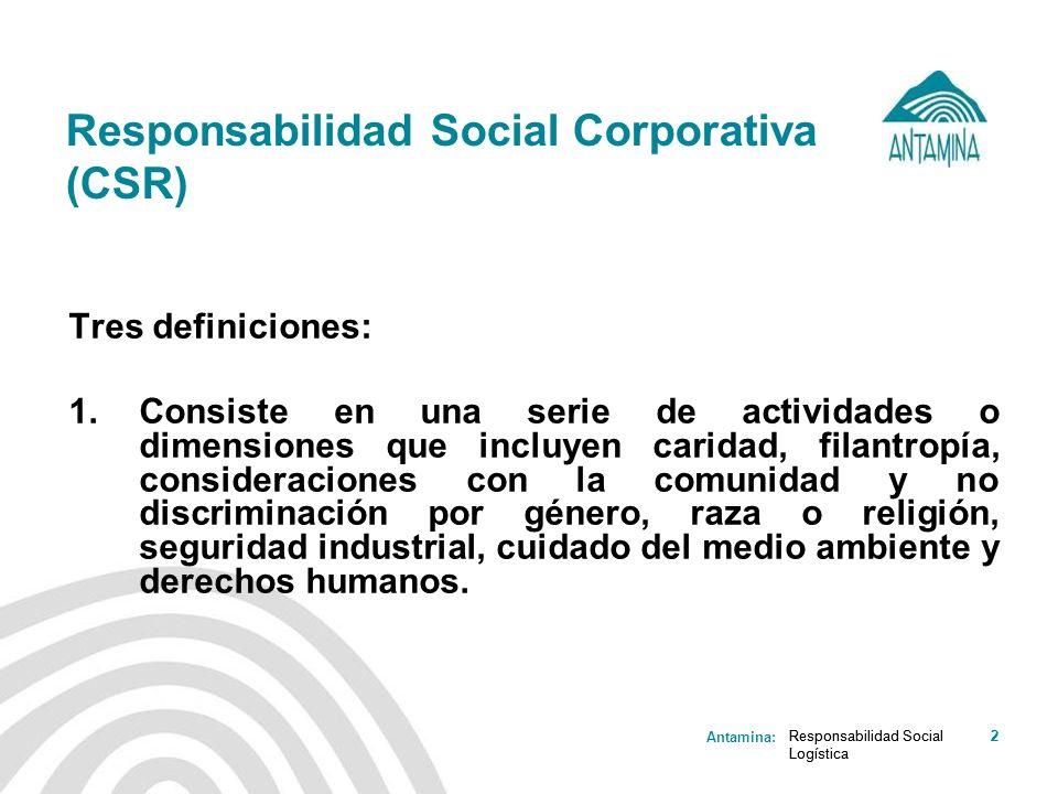 Responsabilidad Social Corporativa (CSR)
