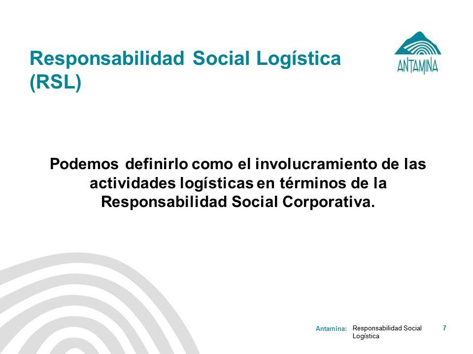 Responsabilidad Social Logística (RSL)