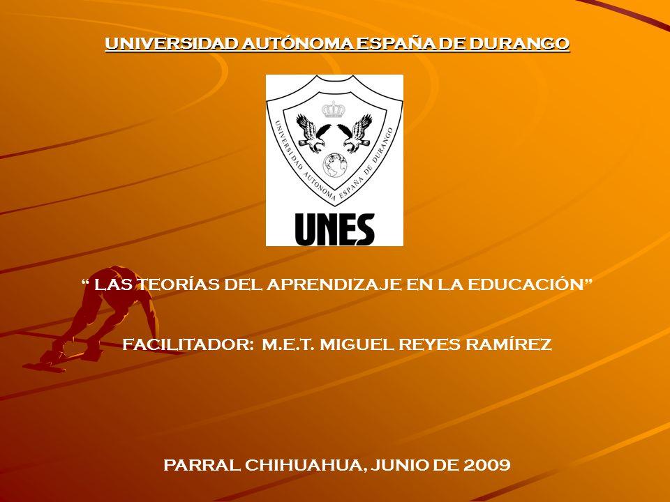 UNIVERSIDAD AUTÓNOMA ESPAÑA DE DURANGO