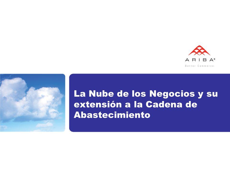 La Nube de los Negocios y su extensión a la Cadena de Abastecimiento