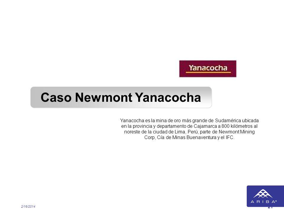 Caso Newmont Yanacocha