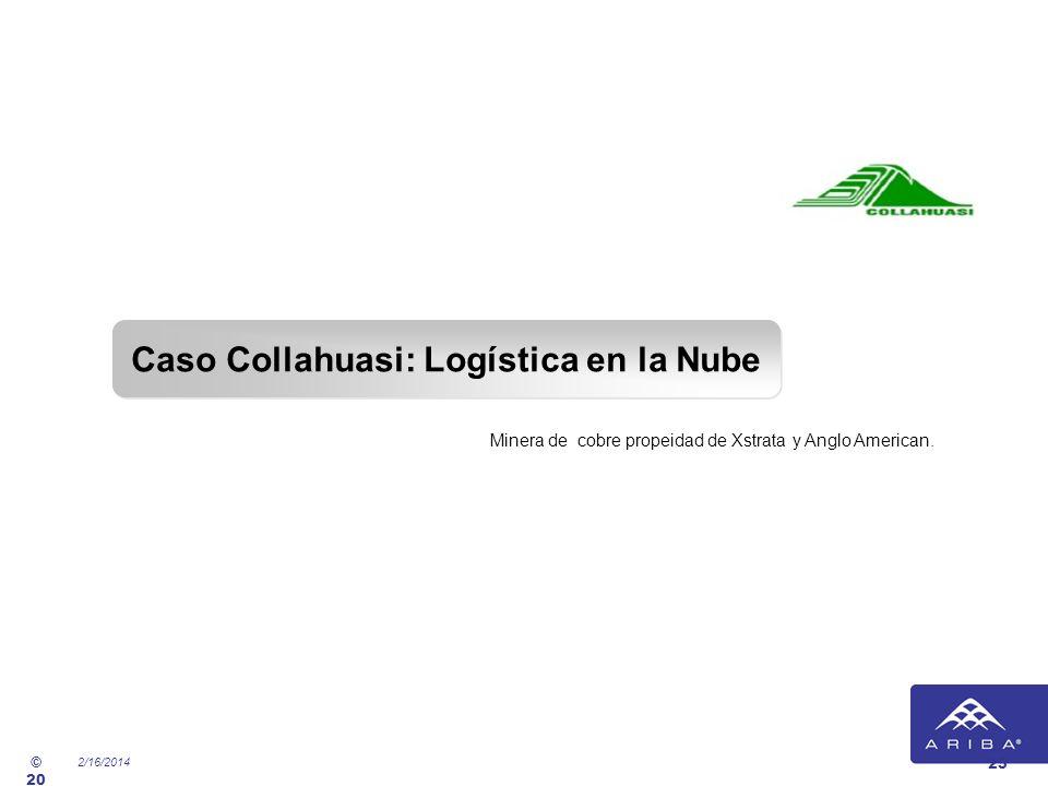Caso Collahuasi: Logística en la Nube
