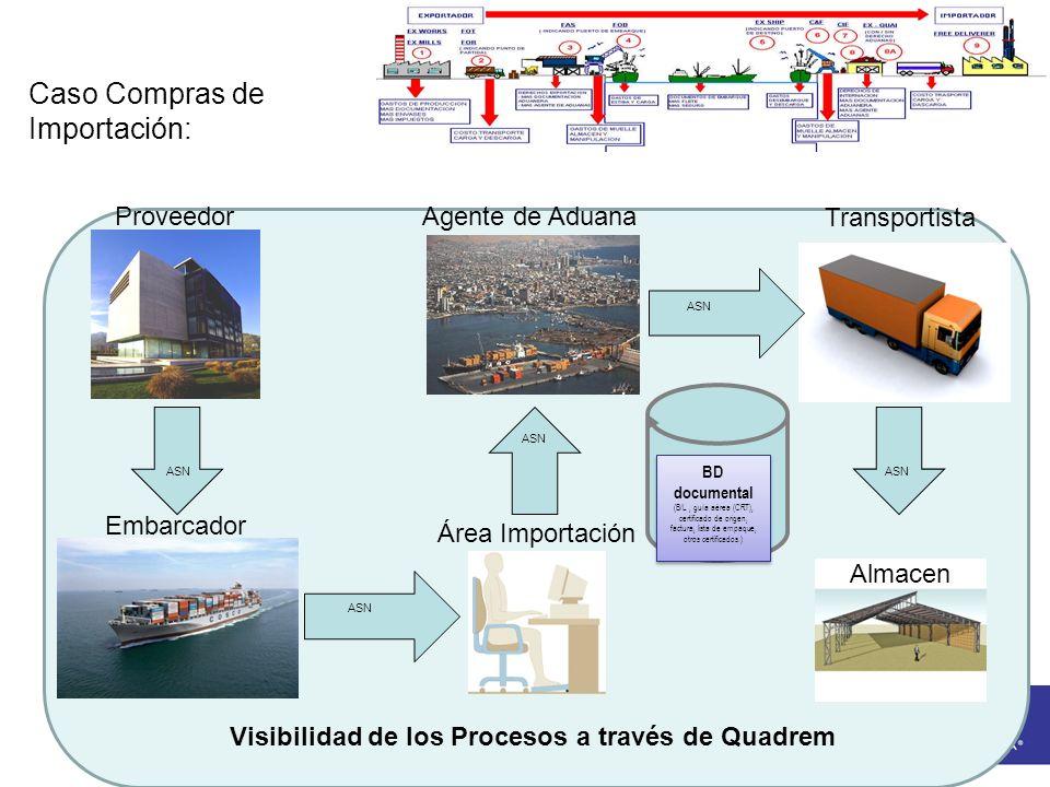 Visibilidad de los Procesos a través de Quadrem