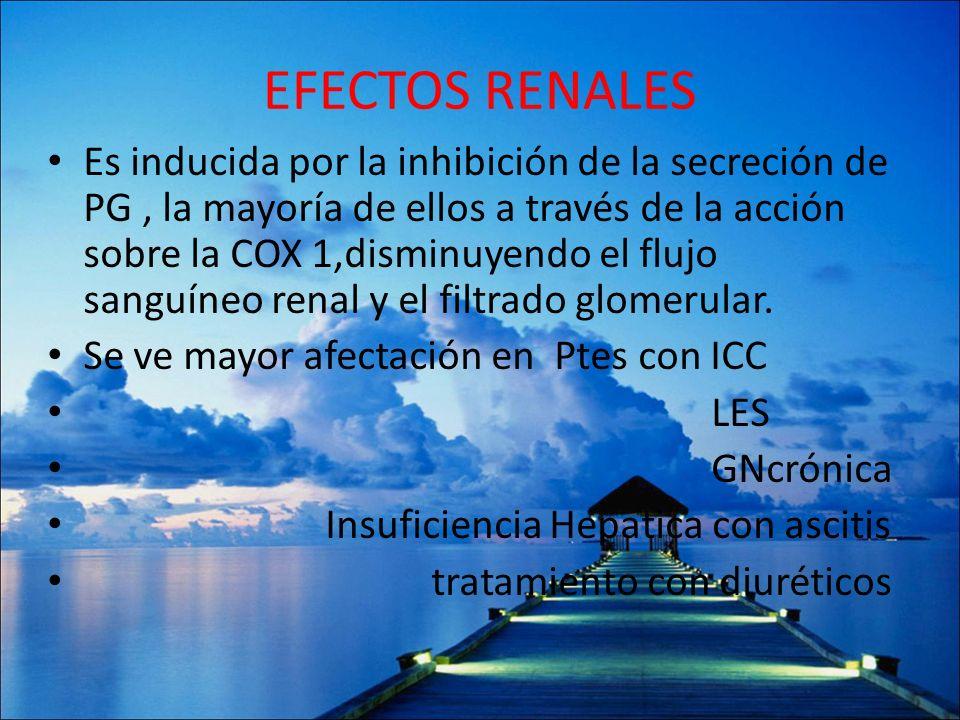 EFECTOS RENALES