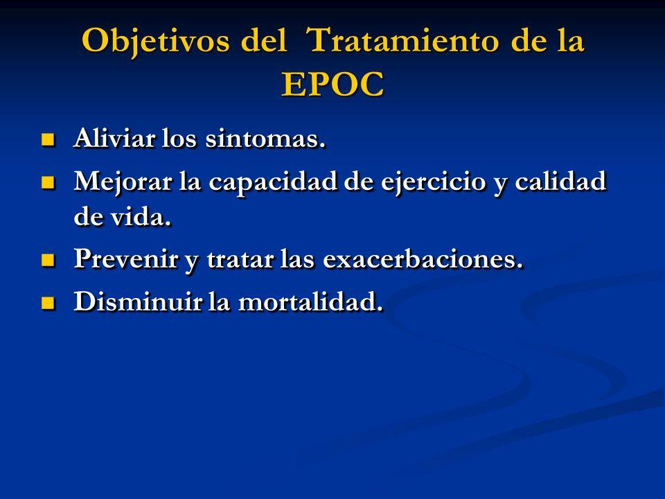 Objetivos del Tratamiento de la EPOC