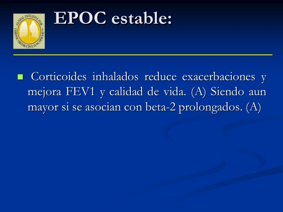 EPOC estable: