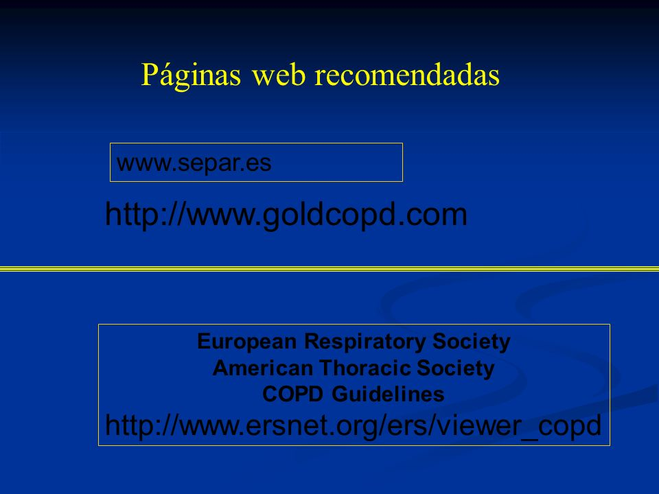 European Respiratory Society American Thoracic Society