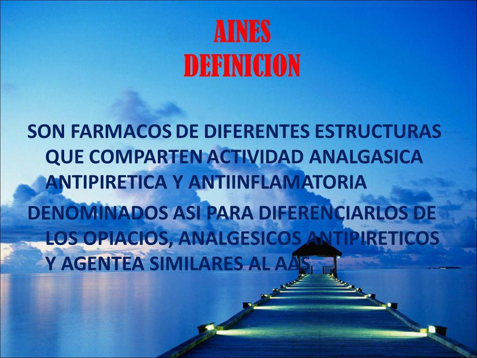 AINES DEFINICION
