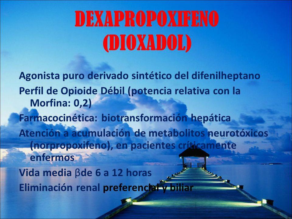 DEXAPROPOXIFENO (DIOXADOL)