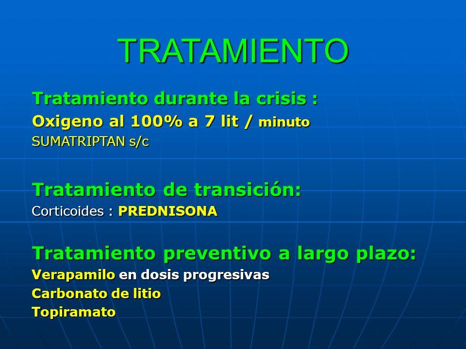 TRATAMIENTO Tratamiento de transición: