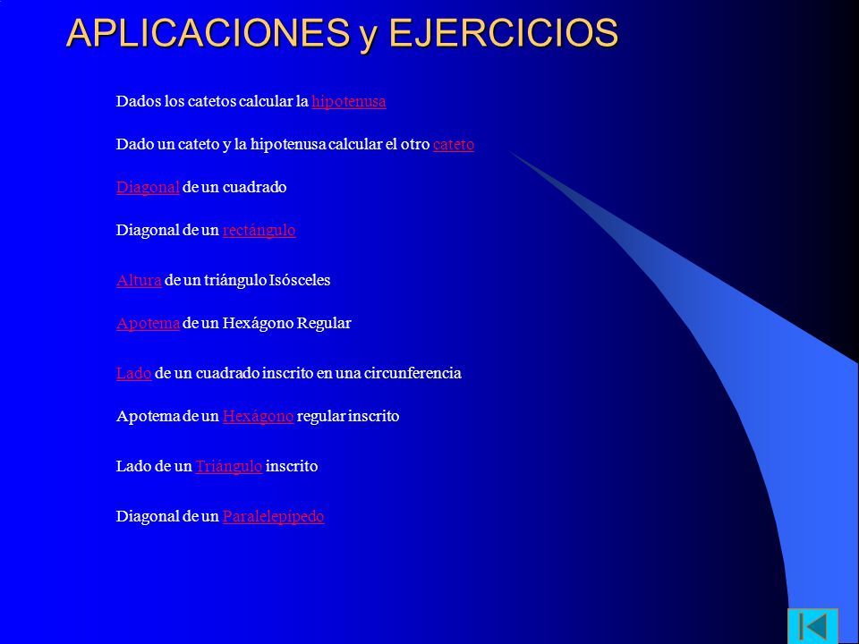 APLICACIONES y EJERCICIOS