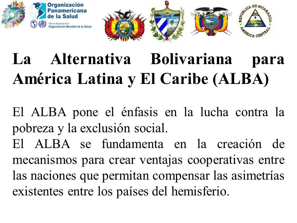 La Alternativa Bolivariana para América Latina y El Caribe (ALBA)