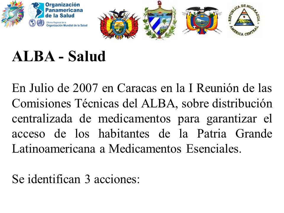 ALBA - Salud