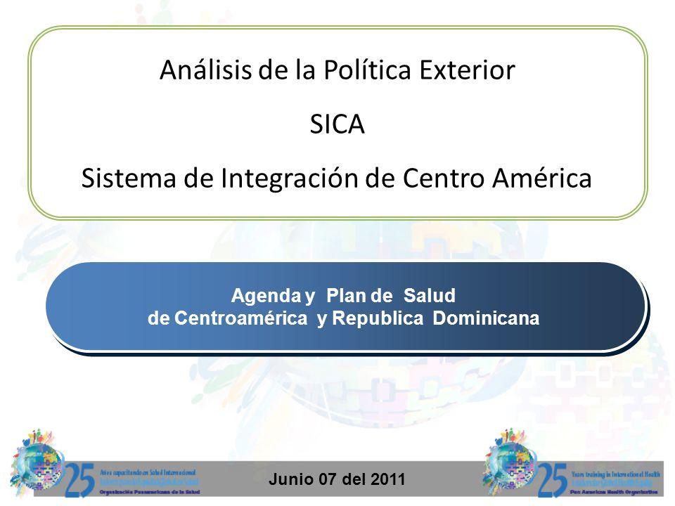 de Centroamérica y Republica Dominicana