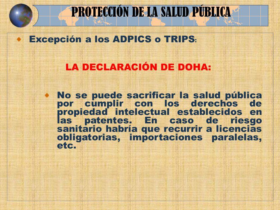 LA DECLARACIÓN DE DOHA: