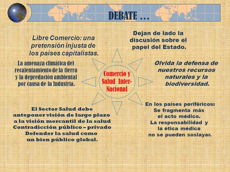 DEBATE … Libre Comercio: una pretensión injusta de