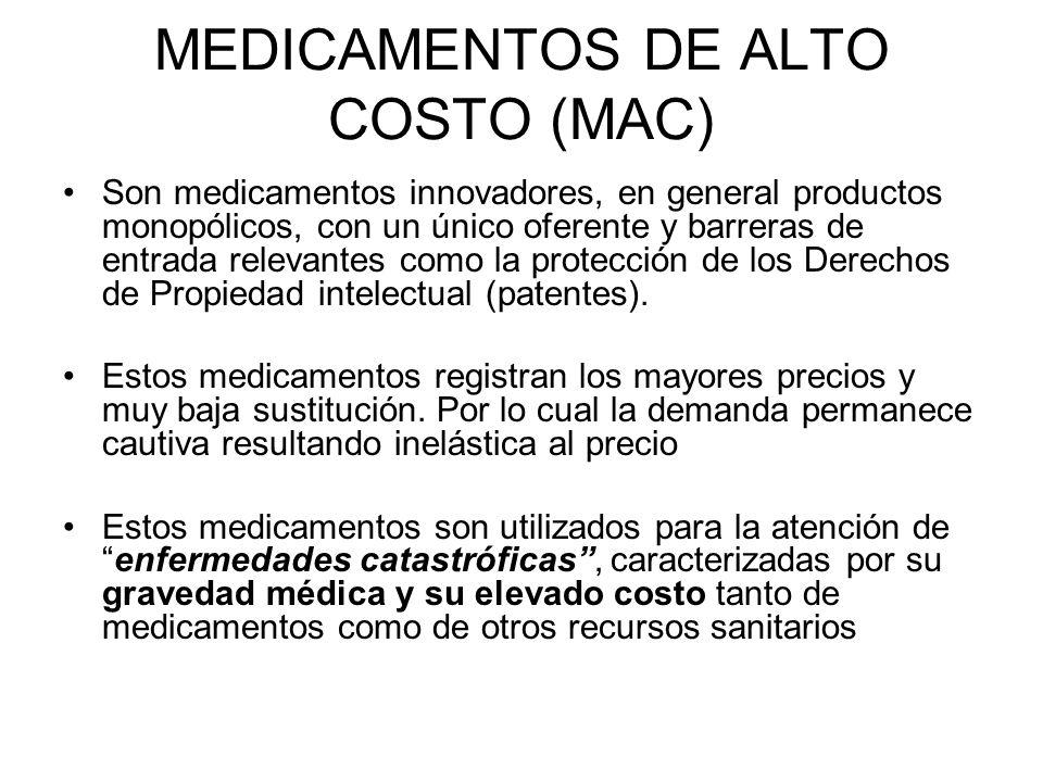MEDICAMENTOS DE ALTO COSTO (MAC)