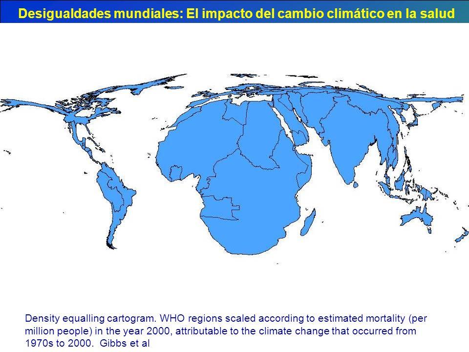 Desigualdades mundiales: El impacto del cambio climático en la salud
