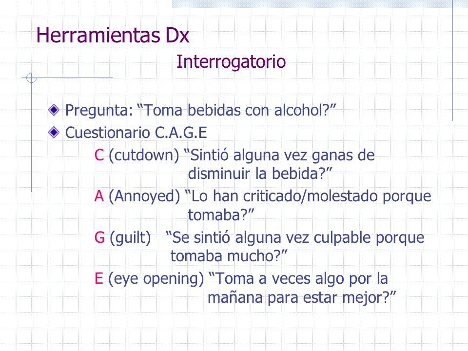 Herramientas Dx Interrogatorio