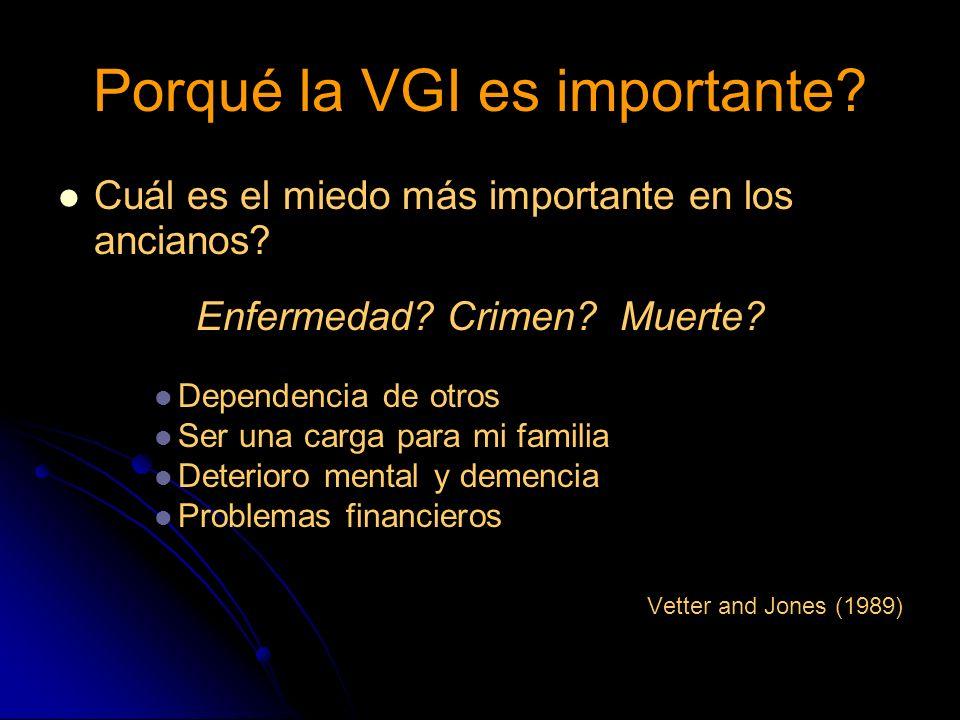 Porqué la VGI es importante