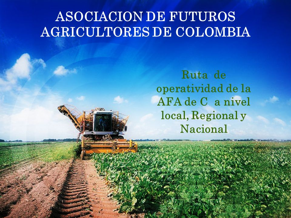 ASOCIACION DE FUTUROS AGRICULTORES DE COLOMBIA