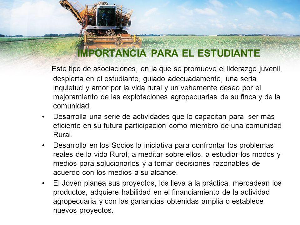 IMPORTANCIA PARA EL ESTUDIANTE