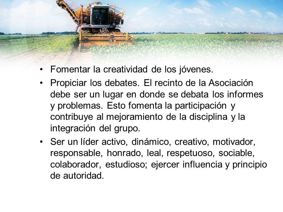 Fomentar la creatividad de los jóvenes.