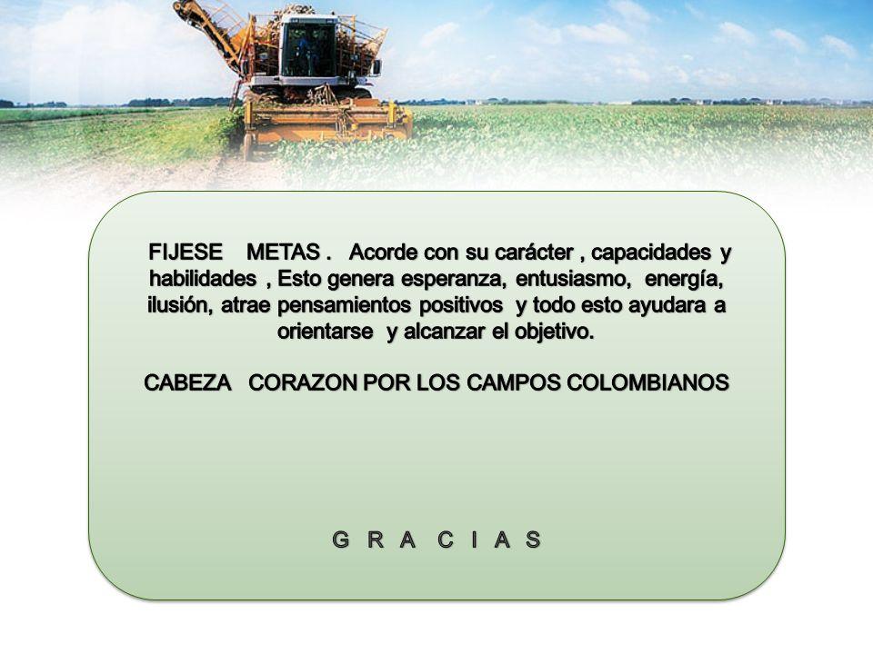 CABEZA CORAZON POR LOS CAMPOS COLOMBIANOS