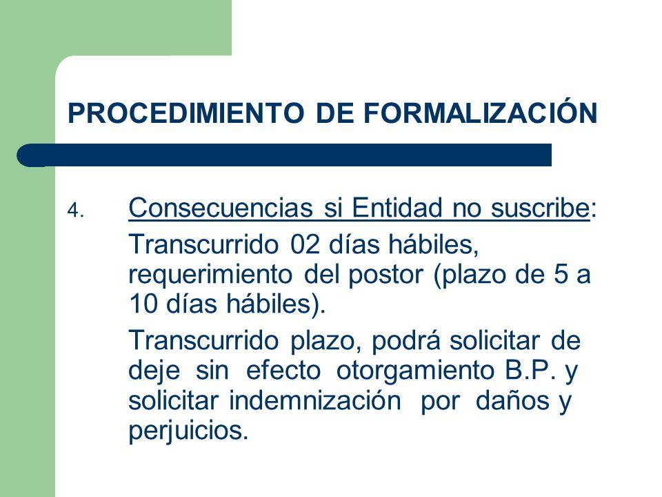 PROCEDIMIENTO DE FORMALIZACIÓN