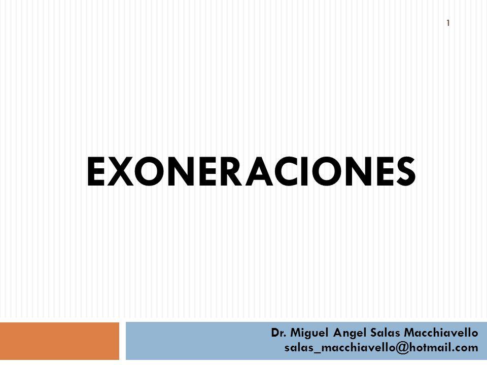 Dr. Miguel Angel Salas Macchiavello salas_macchiavello@hotmail.com