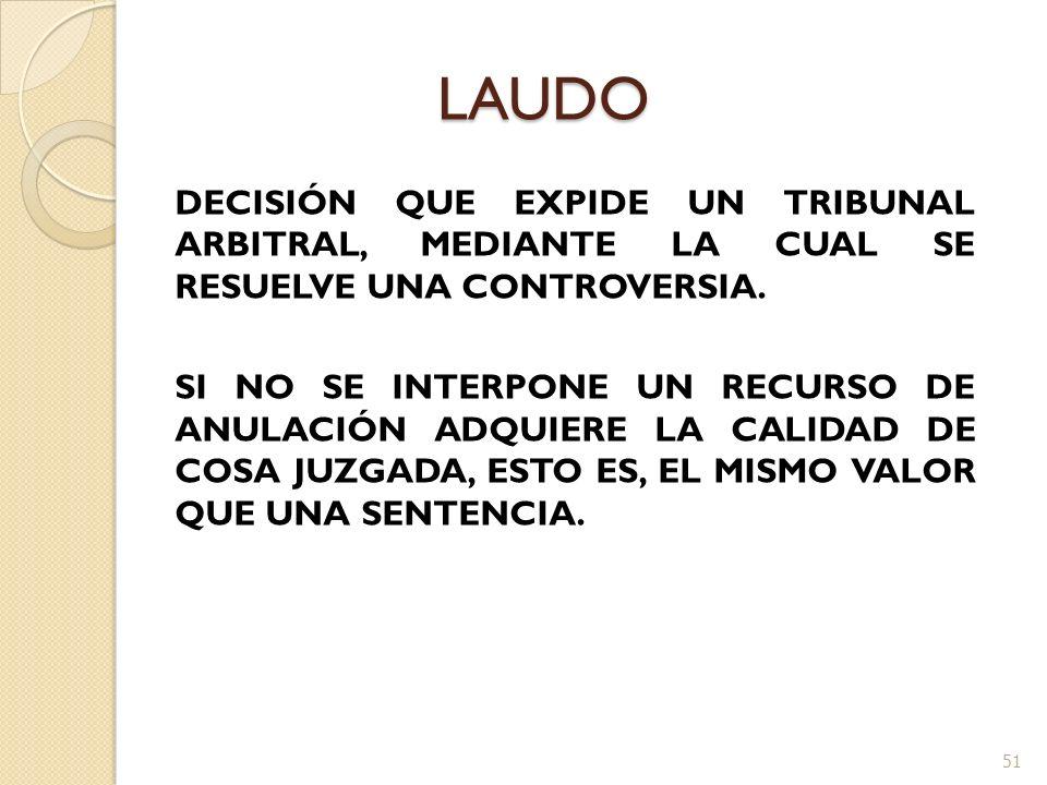 LAUDO