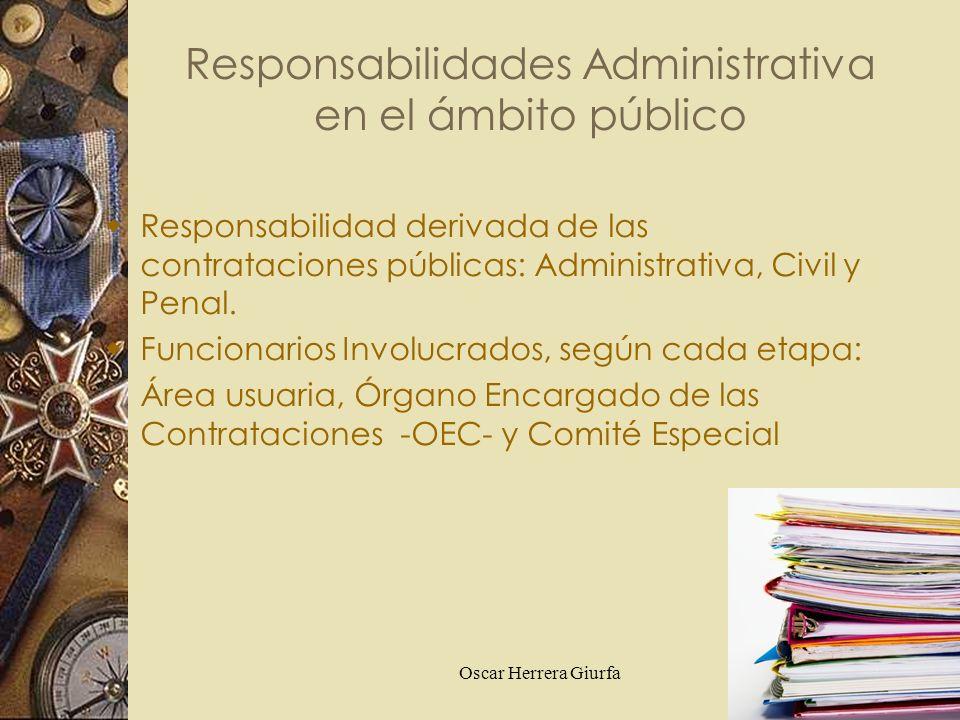 Responsabilidades Administrativa