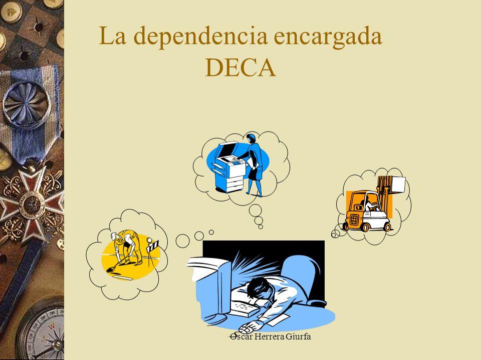 La dependencia encargada DECA