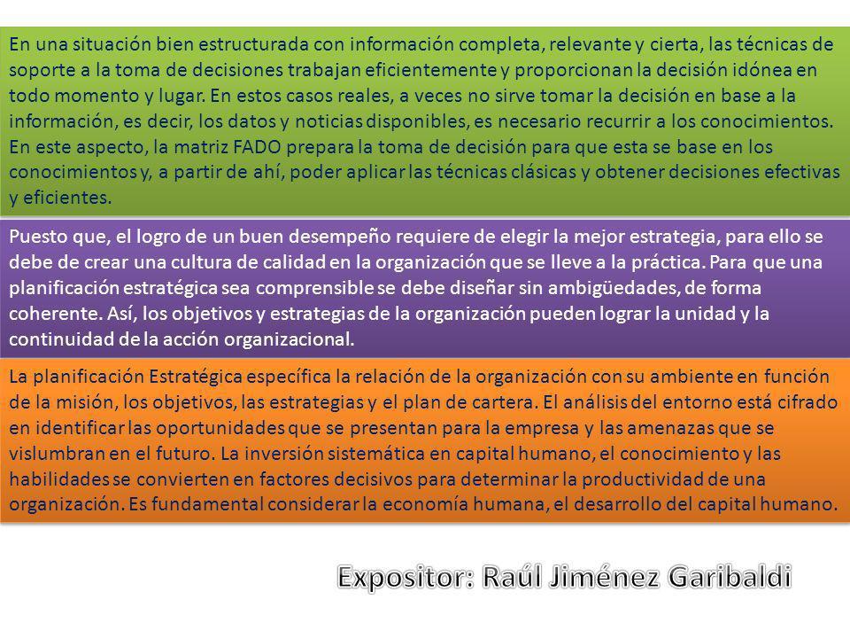 Expositor: Raúl Jiménez Garibaldi