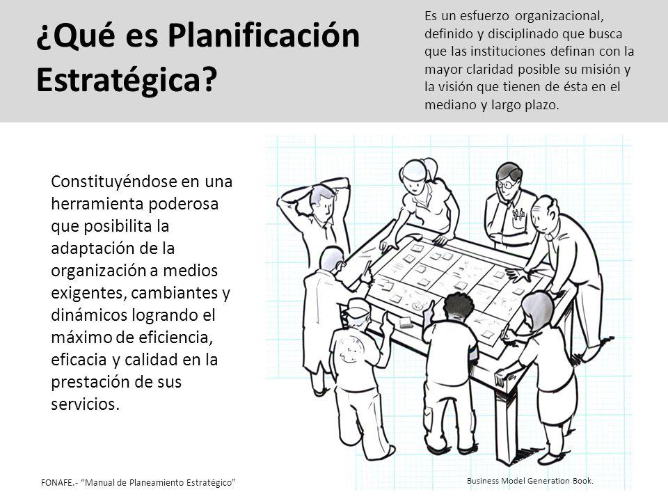 ¿Qué es Planificación Estratégica