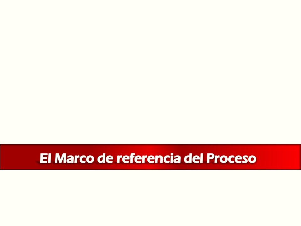 El Marco de referencia del Proceso