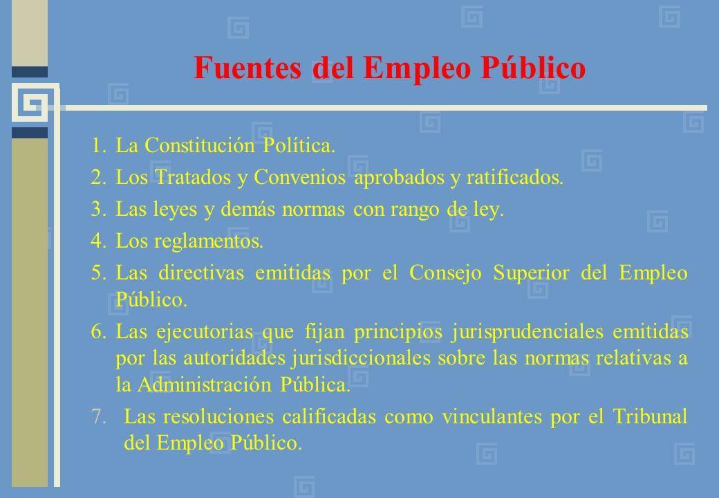 Fuentes del Empleo Público