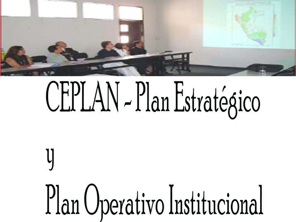 CEPLAN - Plan Estratégico