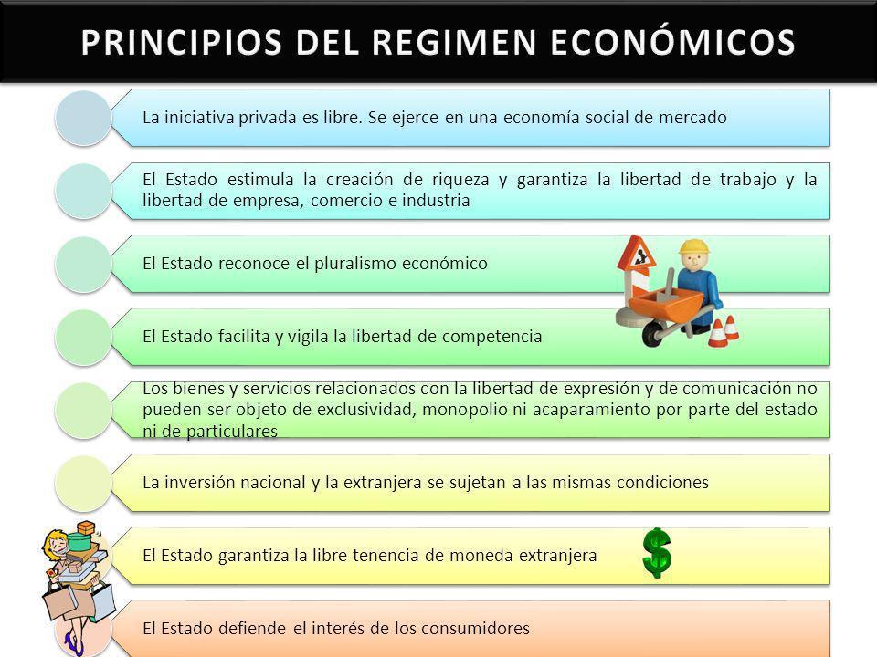 PRINCIPIOS DEL REGIMEN ECONÓMICOS