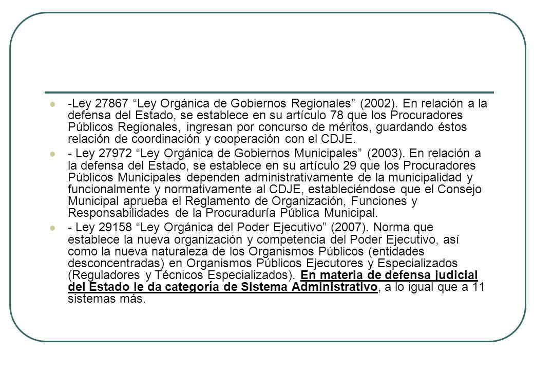 -Ley 27867 Ley Orgánica de Gobiernos Regionales (2002)