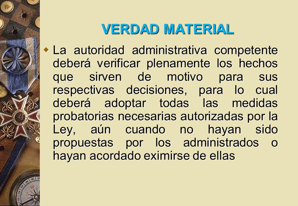 VERDAD MATERIAL