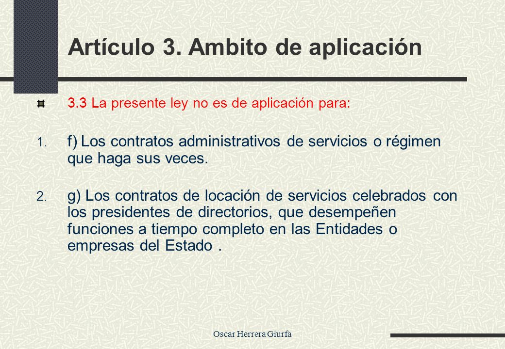 Artículo 3. Ambito de aplicación