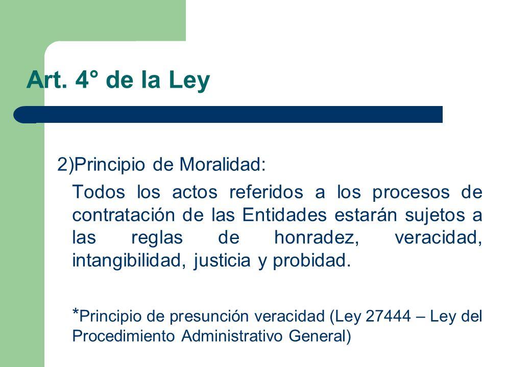 Art. 4° de la Ley