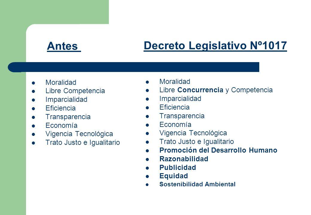 Decreto Legislativo Nº1017