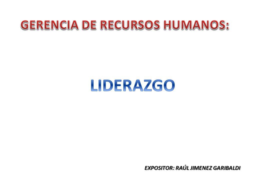 GERENCIA DE RECURSOS HUMANOS: